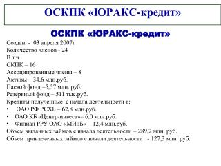 ОСКПК «ЮРАКС-кредит»