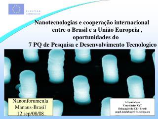A.Landabaso Conselheiro CeT Delegação da CE - Brasil angel.landabaso@ec.europa.eu