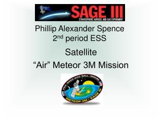 Phillip Alexander Spence 2 nd  period ESS