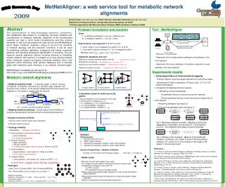 MetNetAligner: a web service tool for metabolic network alignments