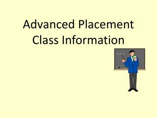 Advanced Placement Class Information