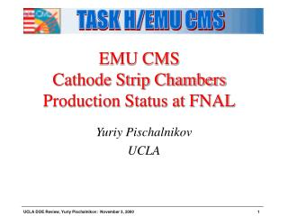 EMU CMS  Cathode Strip Chambers Production Status at FNAL