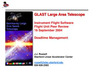 GLAST Large Area Telescope Instrument Flight Software  Flight Unit Peer Review 16 September 2004