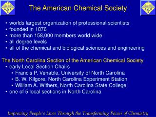worlds largest organization of professional scientists founded in 1876