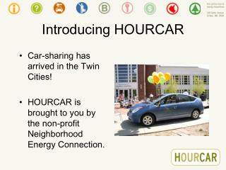 Introducing HOURCAR