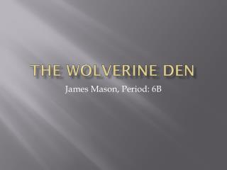 The Wolverine Den