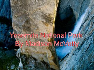 Yosemite National Park  By Madison McVetty