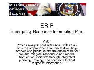 ERIP Emergency Response Information Plan
