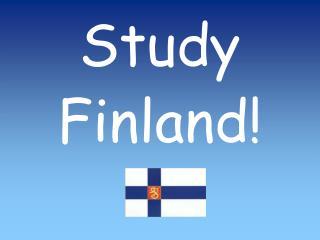 Study Finland!
