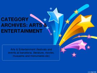 CATEGORY ARCHIVES: ARTS & ENTERTAINMENT