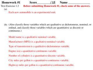 Homework #1Score____________