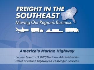 America s Marine Highway