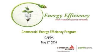 Commercial Energy Efficiency Program