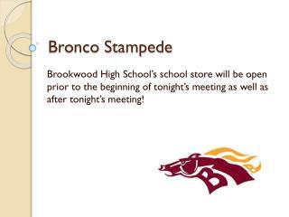 Bronco Stampede