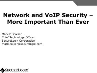 Network and VoIP Security