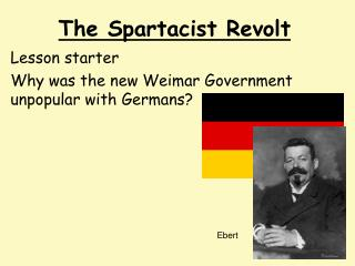 The Spartacist Revolt