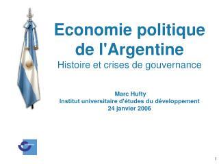 Plan de l'exposé 1. Le problème 2. Histoire économique  3. La crise de 2001-02
