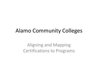 Alamo Community Colleges