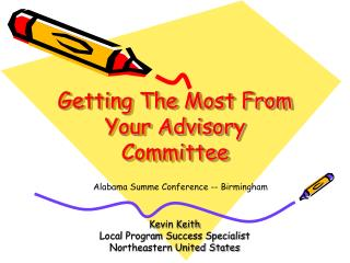 Getting The Most From Your Advisory Committee