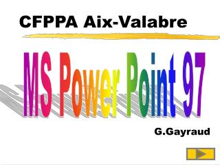 CFPPA Aix-Valabre