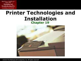 Printer Technologies and Installation