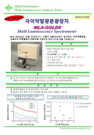 High-Performance Multi Luminescence Analyzer Series