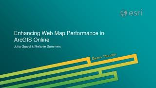 Enhancing Web Map Performance in ArcGIS Online