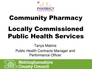 Community Pharmacy Locally Commissioned Public Health Services