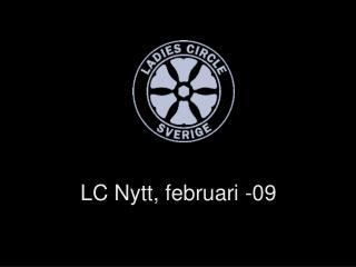 LC Nytt, februari -09