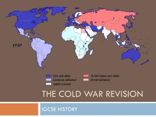 THE COLD WAR REVISION