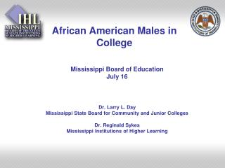 African American Males in College