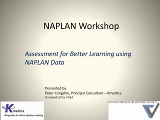 NAPLAN Workshop