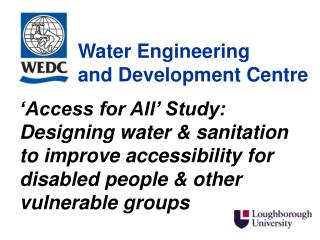 Water Engineering  and Development Centre