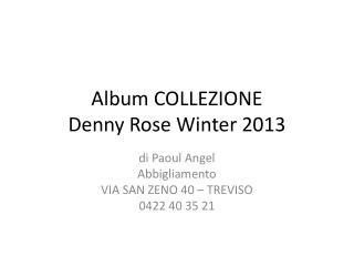 Album COLLEZIONE Denny Rose  Winter  2013