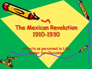 The Mexican Revolution 1910-1930