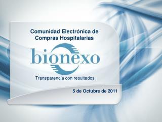 Comunidad Electr�nica de Compras Hospitalarias