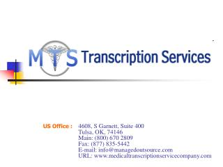 Medical Transcription Service Company