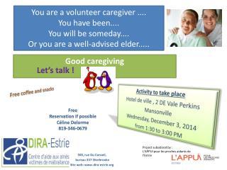 Good  caregiving