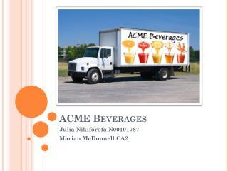 ACME Beverages
