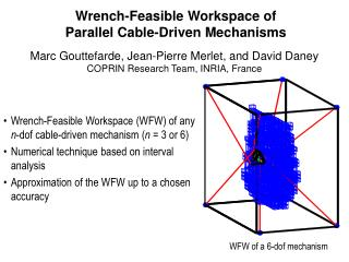 Wrench-Feasible Workspace of Parallel Cable-Driven Mechanisms