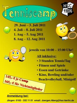Tenniscamp