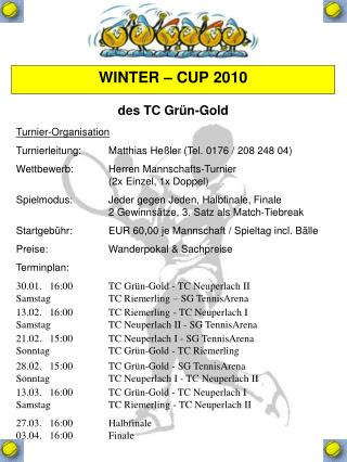 WINTER – CUP 2010
