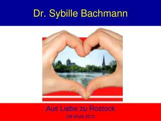 Dr. Sybille Bachmann