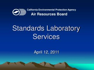 Standards Laboratory Services