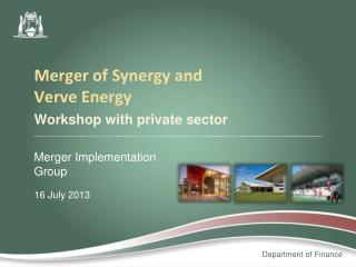 Workshop with private sector