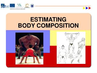 ESTIMATING BODY COMPOSITION