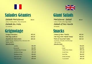 Salades Géantes