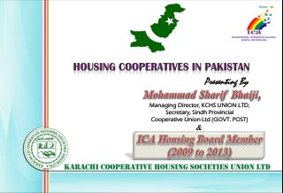 HOUSING COOPERATIVES IN PAKISTAN