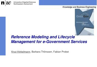 Reference Modeling and Lifecycle Management for e-Government Services