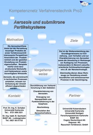 Kompetenznetz Verfahrenstechnik Pro3